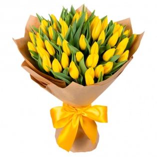 Тюльпаны желтые (за шт)